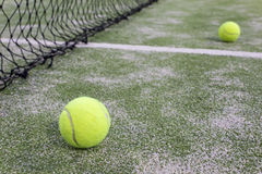 Tenis lub paddle piłki fotografia stock