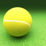 Tenis nad gazon ziemią ilustracji
