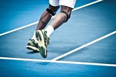 Tenis nogi obrazy royalty free
