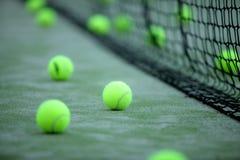 Tenis o bolas de la paleta Foto de archivo libre de regalías