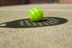 tenis piłkę Zdjęcie Royalty Free