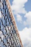 Tenis, red, cielo Imagenes de archivo
