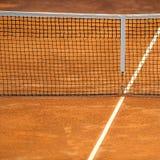 Tenis sieć Fotografia Royalty Free