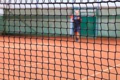 Tenis sieci szczegóły Obraz Stock