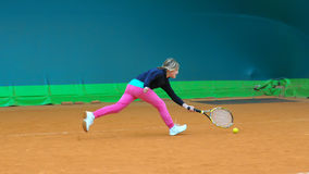 Tenis szkoła Obraz Royalty Free