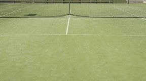 Tenisa pole Obraz Stock