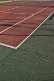 Tenisa pole Zdjęcie Stock