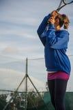 Tenisa szkolny plenerowy Zdjęcie Royalty Free