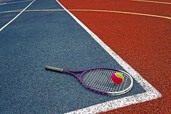 Tenisowe piłki & Racket-4 Zdjęcie Stock