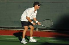 tenisowy gracza Obrazy Royalty Free