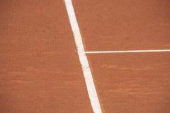 Tenisowy sąd Zdjęcie Royalty Free
