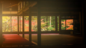 Tenju-an temple at autumn, Kyoto Stock Photo