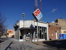 Tenleytown Domino's Pizza Royalty-vrije Stock Afbeeldingen