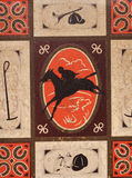 Tenn för rostig häst för tappning themed Royaltyfria Bilder