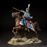 Tenn- soldat för häst arkivbild