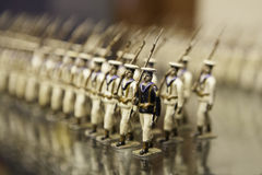 Tenn- soldater Arkivfoton