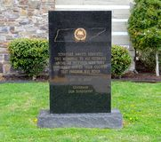 Tennessee American Veterans Memorial Sign Stock Images