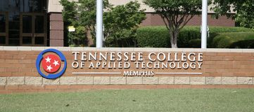 Tennessee College of Applied Technology TCAT Royalty Free Stock Image