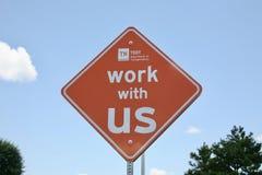 Tennessee Department des Transportes, Arbeit mit uns Lizenzfreie Stockfotos