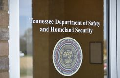 Tennessee Department of Saftey and Homeland Security Royalty Free Stock Photos