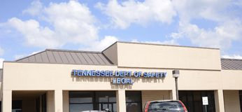 Tennessee Department of Saftey Legal Royalty Free Stock Photography