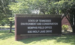 Tennessee Environment and Conservation Office Royalty Free Stock Images