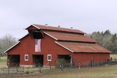 Tennessee Farm Royalty Free Stock Photos