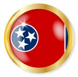 Tennessee Flag Button Stock Photos
