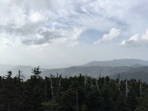 Tennessee Great Smokies Mountains Landscape stock photography