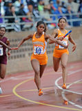 Tennessee Lady Vols 4x100 Relay team Stock Photo