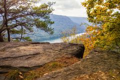 Tennessee Landscape. A serene landscape near Chattanooga, Tennessee Stock Photography