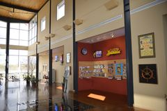 Memphis, Tennessee Welcome Center Interior royalty free stock photos
