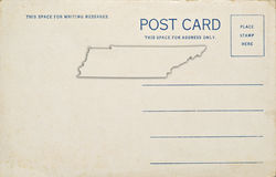 Tennessee Post Card Royalty Free Stock Photography