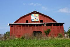Tennessee Quilt Barn Stock Photography