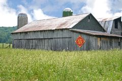 Tennessee Quilt Barn Royalty Free Stock Photo