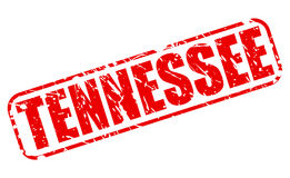 Tennessee red stamp text Royalty Free Stock Photos