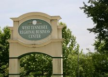 Tennessee Regional Business Center del oeste Imagen de archivo