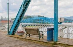 Tennessee River Bridge Fotografia Stock Libera da Diritti