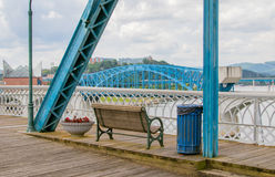 Tennessee River Bridge Royalty Free Stock Photo