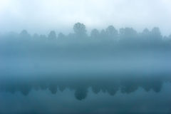 Tennessee River. Foggy Tennessee Morning on the River Stock Photography