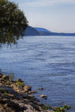 Tennessee River at Joe Wheeler Dam Royalty Free Stock Photography