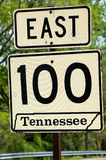 Tennessee Route Sign Royalty Free Stock Photo