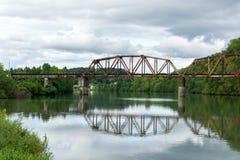 Tennessee rzeki most zdjęcia royalty free