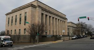 Tennessee sądu najwyższy budynek w Nashville, Tennessee 4K zbiory wideo