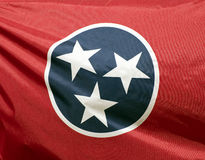 Tennessee State Flag stock image