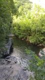 Tennessee Stream. Nature stream in the Smoky Mountains Stock Photos