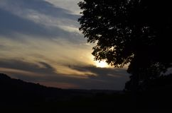 Tennessee Sunset Imagens de Stock Royalty Free