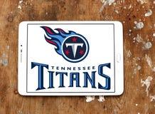 Tennessee Titans futbolu amerykańskiego drużyny logo Zdjęcie Stock