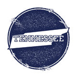 Tennessee vector map. Royalty Free Stock Image
