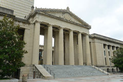 Tennessee War Memorial Auditorium, Nashville, TN, USA Stock Images